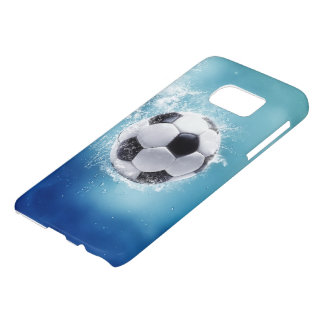 Soccer Water Splash Samsung Galaxy S7 Case