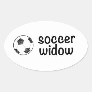 Soccer widow sticker