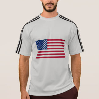 Soccer with American Flag T-Shirt