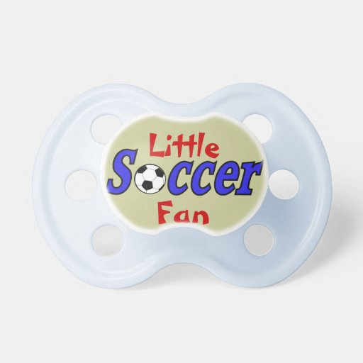 Soccer with Ball Pacifiers