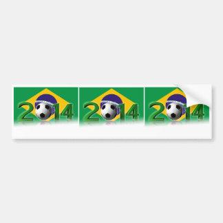 Soccer World Championship 2014 Bumper Sticker