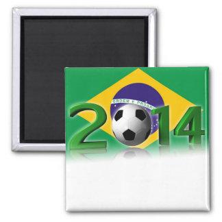 Soccer World Championship 2014 Magnet