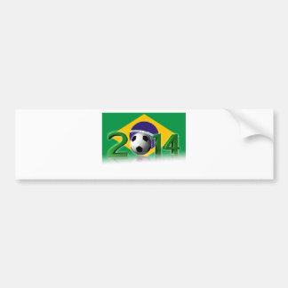 Soccer World Cup 2014 Autocollant De Voiture