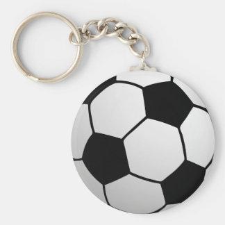 SoccerBall fait sur commande pour des équipes et d Porte-clé Rond