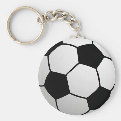 SoccerBall fait sur commande pour des équipes et d Porte-clef