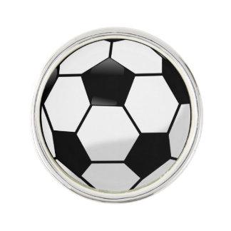Soccerball Lapel Pin