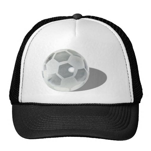 SoccerCrystalBall092110 Mesh Hats
