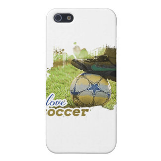 SocceriGuide Soccer Ball iPhone 5/5S Covers