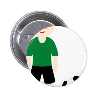 SoccerTeam4 Pinback Buttons