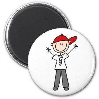 Socer Referee Magnet
