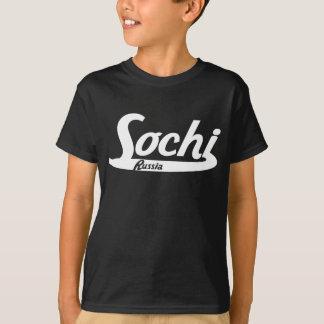 Sochi Russia Vintage Logo T-Shirt