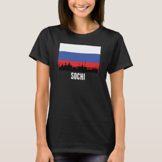 Sochi Russian Flag T-Shirt