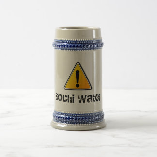 Sochi Water Beer Mug