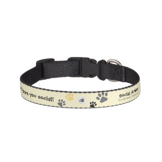 Social Animal Pet Collar