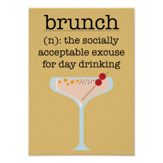 Social Brunch Poster