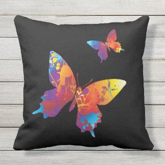 Social Butterflies Outdoor Pillow