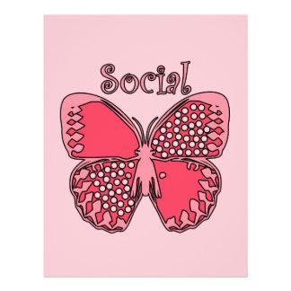 Social Butterfly Custom Flyer