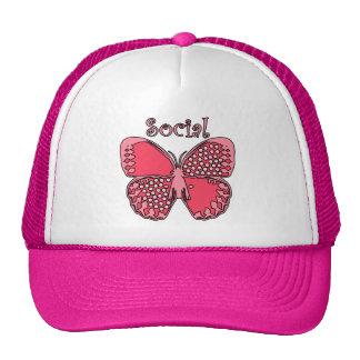 Social Butterfly Hat
