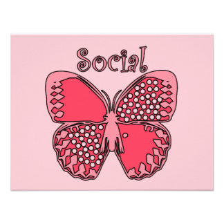 Social Butterfly Invite