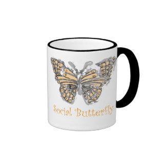 Social Butterfly Mug