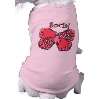 Social Butterfly Pet Tshirt