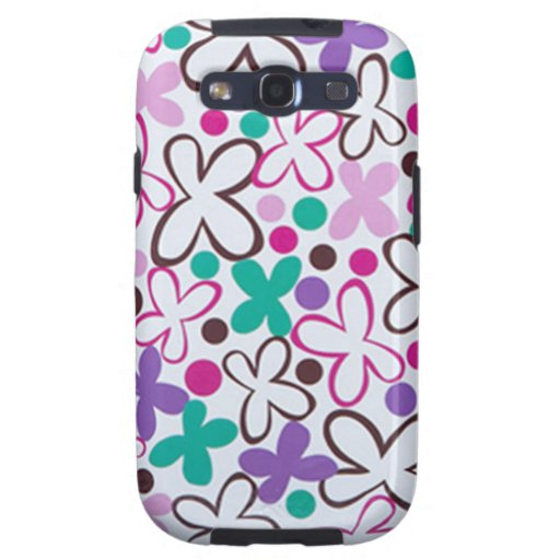 Social Butterfly - Samsung Galaxy S3 Case