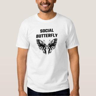 Social Butterfly T Shirt