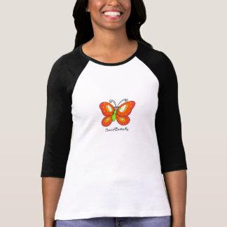 social butterfly tee