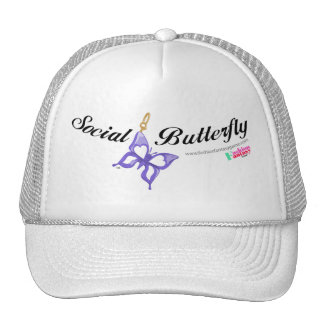 Social Butterfly Trucker Hat