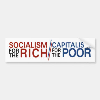 Social Capital Bailout Bumper Sticker