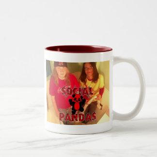 Social Coffee Two-Tone Coffee Mug