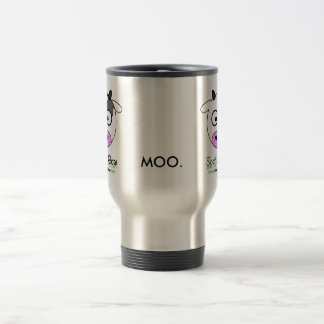 Social Cow - Travel Mug - Stainless Steel