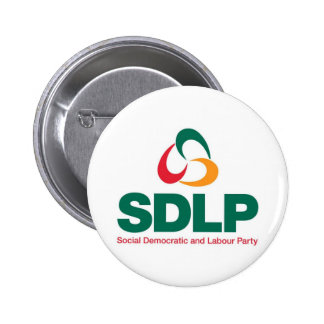 Social Democratic and Labour Party Button Badge
