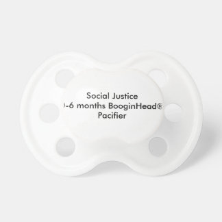 Social Justice 0-6 months BooginHead® Pacifier