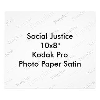 "Social Justice 10x8""  Kodak Pro Photo Paper Satin"