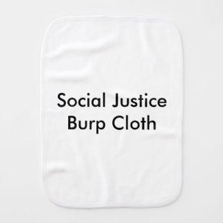 Social Justice Burp Cloth