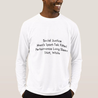 Social Justice Men's Sport-Tek Fitted Performance T-shirts