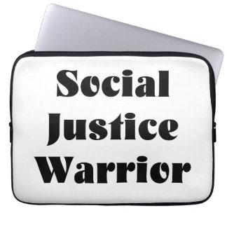 Social Justice Warrior Laptop Case
