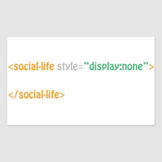 social life - directive sticker