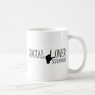 Social Loner Logo - New Coffee Mugs