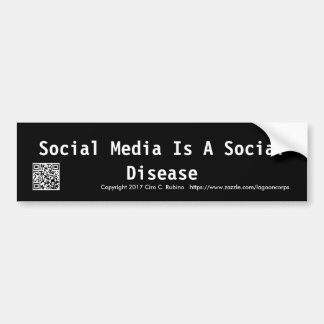 Social Media Bumper Sticker