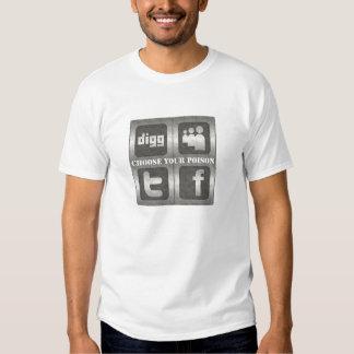 Social Media - Choose Tshirt