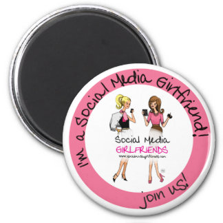 Social Media Girlfriends Magnet