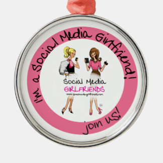 Social Media Girlfriends Ornament