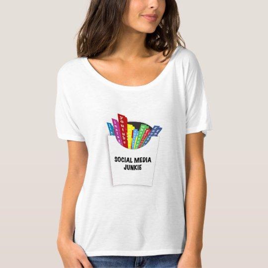 Social Media Junkie T-Shirt