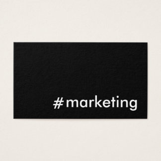 Social Media Marketing Business Card