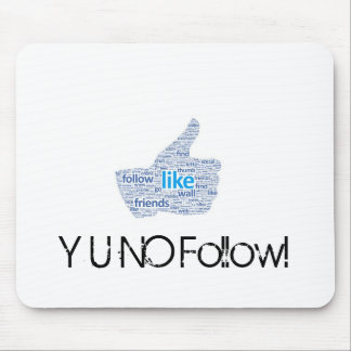 Social Media Mouse Pad
