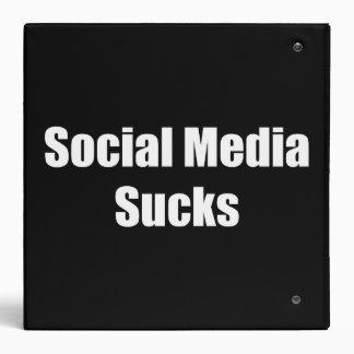 Social Media Sucks Binders