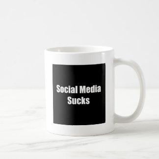 Social Media Sucks Coffee Mug