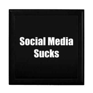 Social Media Sucks Gift Box